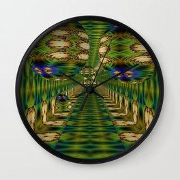 Creeping In Balls 2 Wall Clock