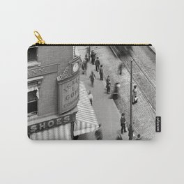 1906 Westminster Street Cityscape Scene, Providence, Rhode Island Carry-All Pouch