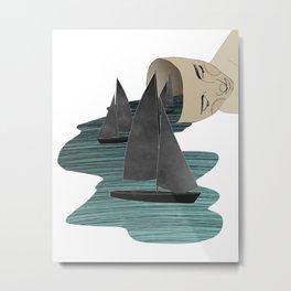 The Forgetful Sailor Metal Print