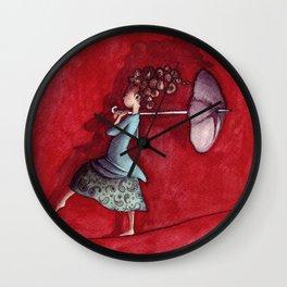 Funambulista Wall Clock