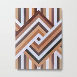 Orthogonal pattern XI Metal Print