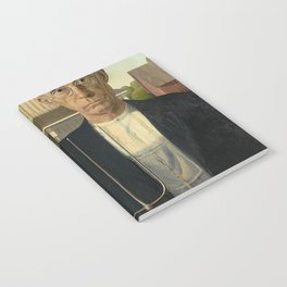 AMERICAN GOTHIC - GRANT WOOD Notebook