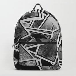 New tarot | Black and white | New age | Gypsy | Fortune telling | Tarot cards Backpack