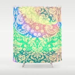 Hippie Fabric Shower Curtain