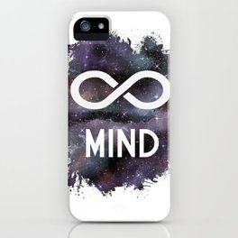Infinate Mind iPhone Case