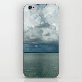 Heavy clouds iPhone Skin