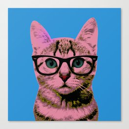 Warhol Cat 1 Canvas Print