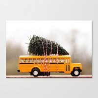 christmas tree Canvas Prints featuring Christmas Tree by Beverly LeFevre