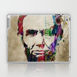 Abraham Lincoln Watercolor Modern Abstract GIANT PRINT ART Laptop & iPad Skin