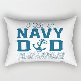 I'M A NAVY DAD Rectangular Pillow