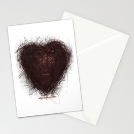 heart of love Stationery Cards