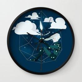 Nightlight Circlet Wall Clock