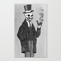 Undead Gentleman Canvas Print