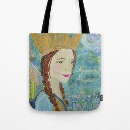 Royal Warrior Queen Tote Bag