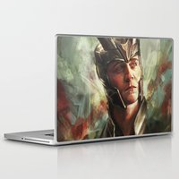 prince Laptop & iPad Skins featuring The Prince of Asgard by Alice X. Zhang