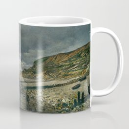 Monet - La Pointe de la Hève at Low Tide, 1865 Coffee Mug