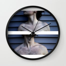 Diptych- Vulnerability Wall Clock