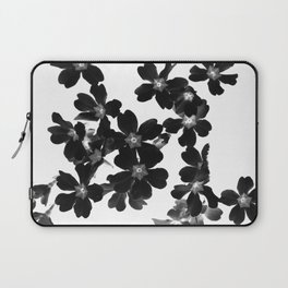 Primrose In BW Laptop Sleeve