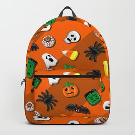 Halloween Spooky Candies Party Backpack