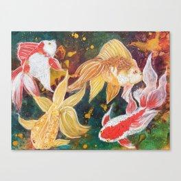 Wild Goldfish Dreams Canvas Print