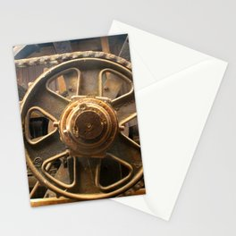 Gears of the Past Stationery Cards