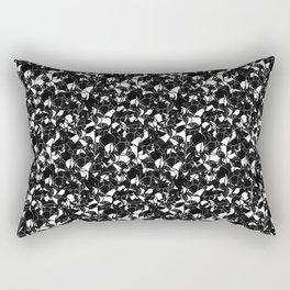Black For The Night Rectangular Pillow