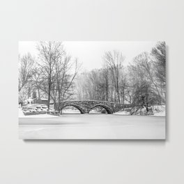 Stone Bridge Clove Lake Park Metal Print