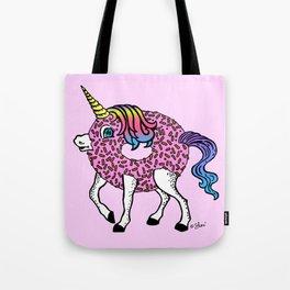 Unicorn Donut Pink Tote Bag
