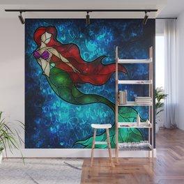 The Mermaids Song Wall Mural
