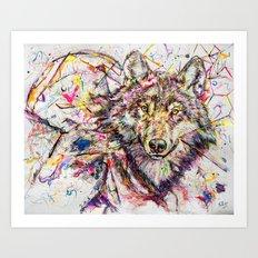 Wolf // Cuetlachtli Art Print