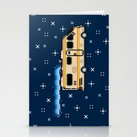 8bit Stationery Cards featuring 8Bit Bad by Atomic Rocket