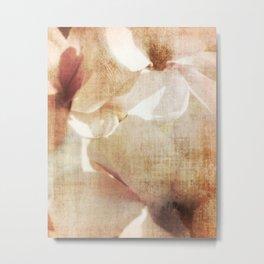 Magnolia memory Metal Print