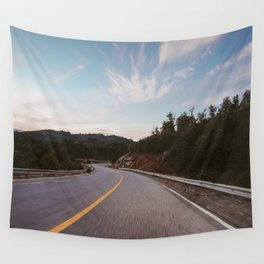 Driving through the Andes Wall Tapestry
