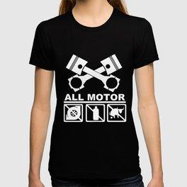 JDM Civic Integra Type Pistons Cams Engine Motor engineer T-shirt