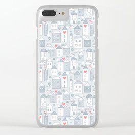 Love city Clear iPhone Case