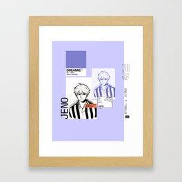 NCT DREAM — Jeno (Pantone Serries) Framed Art Print