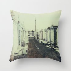 Graveyard Throw Pillow