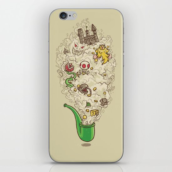 Pipe Dream iPhone & iPod Skin