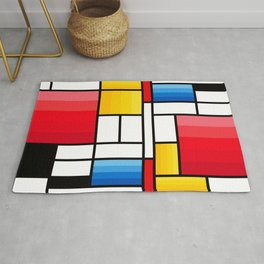 Mondrian in a different way - RUG Rug