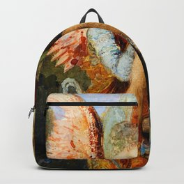"""Gustave Moreau """"The Voices. Hesiod And The Muse"""" Backpack"""