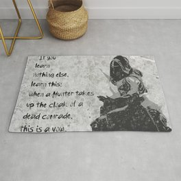 the vow of a hunter Rug