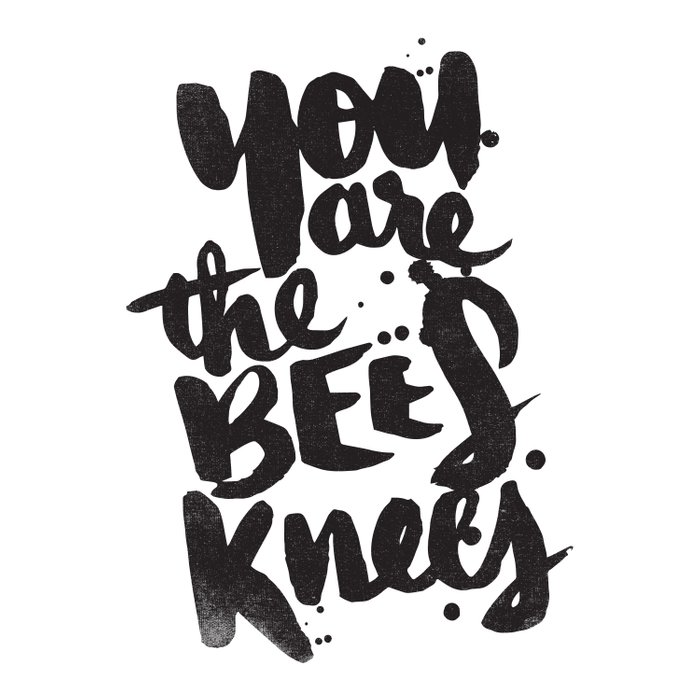 YOU ARE THE BEES KNEES Duvet Cover