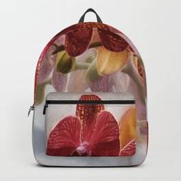 Pretty  'Orchid  and Moonlight' Botanical Wall Art Backpack