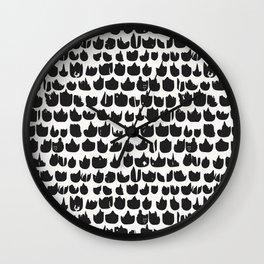 Bunch of tulips Wall Clock