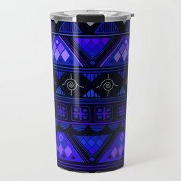 Boho Geometric Pattern Var. 2 Travel Mug