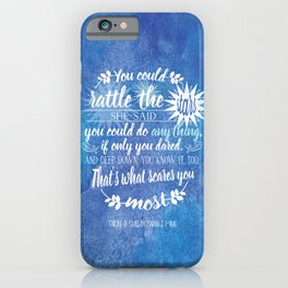 Throne of Glass by Sarah J. Maas Book Quote - Rattle The Stars iPhone Case