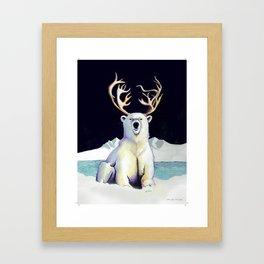 Cold beer Framed Art Print