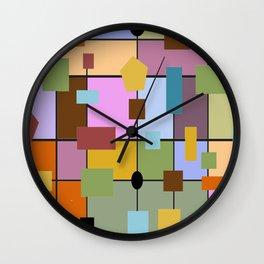 Modern Art Abstract 29/3 Wall Clock
