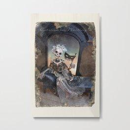 Rucus Studio Catrina In Waiting Metal Print