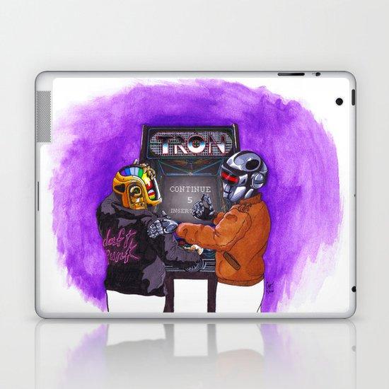 """Continue?"" by Cap Blackard Laptop & iPad Skin"